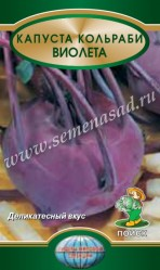 Капуста кольраби Виолетта  0,5гр.  (Поиск)