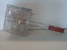 Решетка для мяса 450х225, с ручкой (МИ-93824)