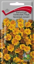 Бархатцы Оранжевый самоцвет тонколист. 0,1гр. (Поиск)