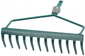 """Грабли RACO изогнутые""""Maxi"""" 12 зубцов с системой быстрого присоедин. Q-C, 300мм (4230-53808)"""