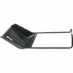 Движок для снега Palisad Luxe 640х700х1520 пласт.ковш, с колесами (МИ-61559)
