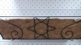 Кашпо коковита ГринБэлт подвесное балконное узор (75см.)  21-1009