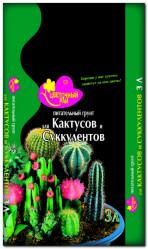 Грунт Цветочный Рай  Кактусы, Суккуленты  3л. БХЗ