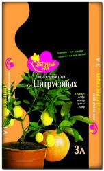 Грунт Цветочный Рай  Цитрусы 3л. БХЗ