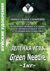 Зеленая Игла  (1кг./кор.) Буйские удобрения