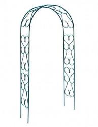 Арка садовая Узорная узкая (выс.2,8м.,шир.1,25м.,гл.0,25м.)