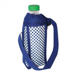 Термосумка (в клетку) СВВК-0,5 (для бутылки 500 мл)8*7*18см (сам.)