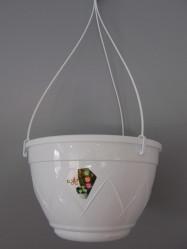 Кашпо Лилия Подвесная  4л. Белый (Santino)
