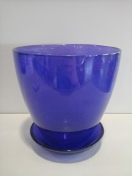 Г.стекло с подд. №2 93-025 алеб. крш. фиолетовый d132 h124 (арт. 4840154707)