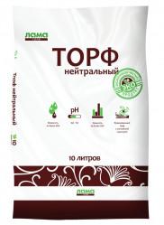 Торф нейтральный Лама-торф 10л.