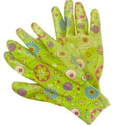 Перчатки LIST'OK нейлон с нитрил.покр. салатовый M LNL189 M