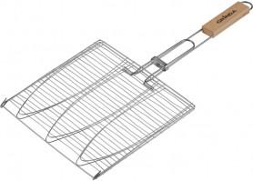 Решетка для барбекю GRINDA Barbecue  для рыбы 3-х местная  424721