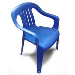 Стул пластм.  Синий  (Альтер. М2611)