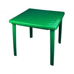 Стол пластм.  квадр. 80х80х74 Зеленый  (Альтер. М2596)