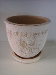 Горшок Олимпия №1 (шамот) d20см, h19см, v3л., арт.1260