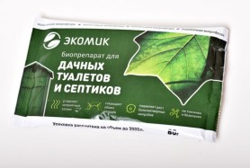 ЭКОМИК - биопрепарат для дачн.туал. и септиков (пак. 80гр.)