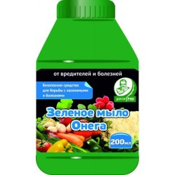 Зеленое мыло Онега (фл.200мл.)  ЕС-ДГ