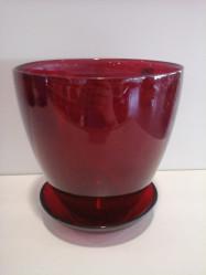 Стекло - Г.стекло с подд. №2 93-025 алеб. крш. рубин d132 h124 (арт. 4840154307)