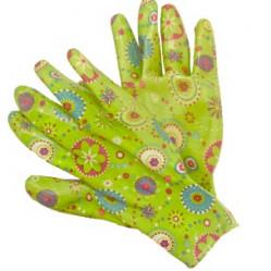 Перчатки, галоши, одежда - Перчатки LIST'OK нейлон с нитрил.покр. салатовый S LNL189 S