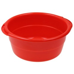 Таз 11л. особо прочный (красный/бордо) (Ижевск)