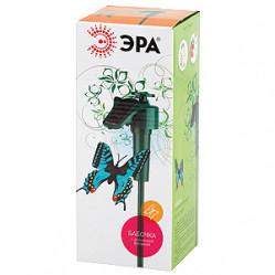 Светильник садовый ЭРА на солн.батарее Порхающая бабочк, пластм., цветной 42см SL-PL42-BTF