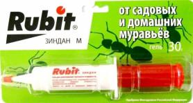 Рубит Зиндан М от садовых и домашних муравьев шприц (30гр.)