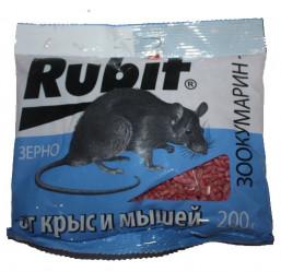 Рубит Зоокумарин+ зерно (пак.200гр.) А-5041
