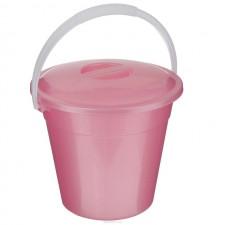 Ведро  3л. евро пищевое  розовый (Ижевск)