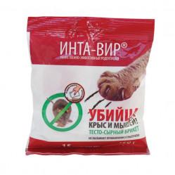 Инта-Вир тесто-сырный брикет (пак.100гр.)