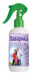 Лаварика парфюмированный спрей от мошки и комаров  фл.200мл.  ВХ