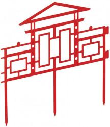 Забор декорат. Дворики (арт.КА1872)