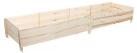 Грядка деревянная