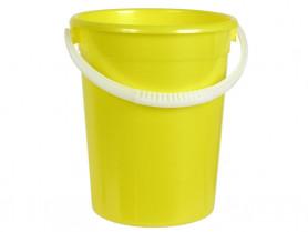 Ведро  5л. евро пищевое желтый (Ижевск)