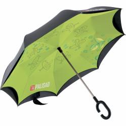 Зонт-трость Palisad  обратного сложения, эргономич.кучка (МИ-69700)
