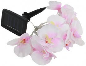 Светильник садовый ЭРА на солн.батарее, пластм., гирлянда ОРХИДЕИ, 420 см SL-PL420-FOD12