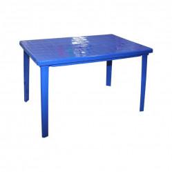 Стол пластм.  прямоугольный 120х85х75 Синий  (Альтер. М2598)