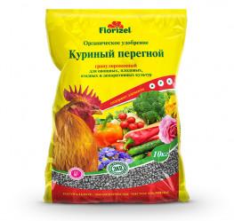 Куриный перегной гранул. Florizel (пак.10кг.)