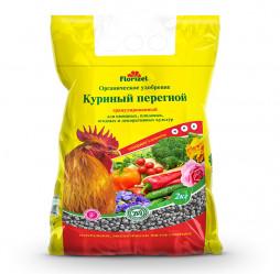 Куриный перегной гранул. Florizel  (пак.2кг.)