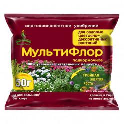 МультиФлор  Садовые цветочно-декоративные растения (пак.50гр.)