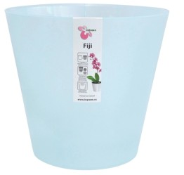 Горшок Фиджи Орхид 230мм 5л. голубой перламутр (ПР)