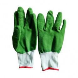 Перчатки Praktische Home, нейлон латексный полный облив G-126