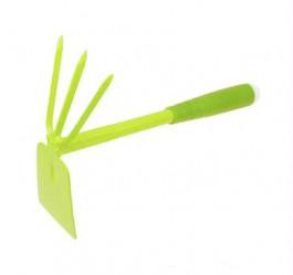 Мотыжка Урожайная Сотка комбинир. 3-зубые грабли с лопаткой 9376D