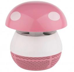 Противомоскитная лампа ЭРА ультрафиолет.(розовый) ERAMF-03