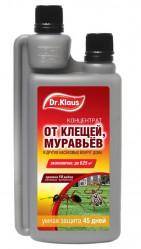 Dr.Klaus  Концентрат от Клещей, муравьев и др.насекомых (фл.250мл.)