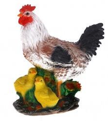 Фигура Курица с цыплятами L16 W27,5 H34 см 123270/F039