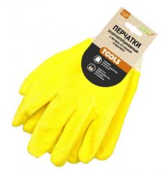 Перчатки Praktische Home, манжет резинка полный облив G-123