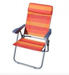 Кресло-шезлонг Бруно радуга складное 60х46х95 NK-1605