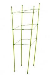 Кустодержатель Урожайная Сотка Квадрат h190см труба мет в ПВХ d11мм SC-B