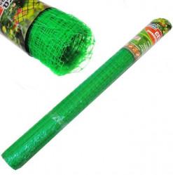 Сетка Урожайная Сотка от птиц и д/птичников 13*13 (1х20м) зеленая
