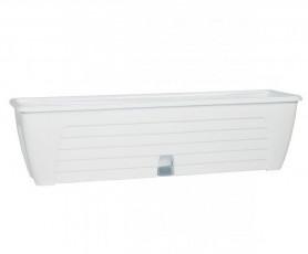 Балконный ящик  LIDO PLUS  600мм. Белый (Santino)